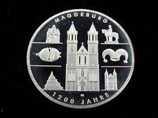 Architektur polierte Platte Münzen der BRD in Euro-Währung aus Silber