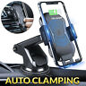 Automatic Clamping Qi Wireless Car Charging Charger Phone Holder Car Windscreen