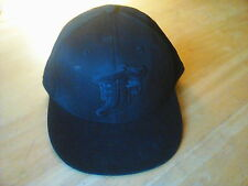 NEW FOX RACING MENS GUYS ADULT REALM 210 FITTED HAT CAP LID BLACK SIZE L/XL