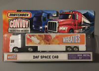 "Matchbox Convoy Wheaties DAF Space Cab Metal  7.5"" Big Rig Die-Cast Cab  Chassis"