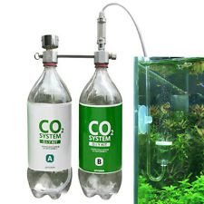 CO2 Generator for Plants Aquarium DIY CO2 Kit Pressurized with Bubble Counter
