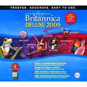 Encyclopedia Britannica 2009 DVD Deluxe Edition