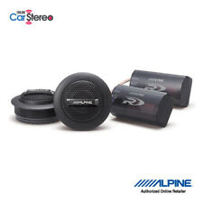 Alpine SPR-10TW Component Car Tweeters / 1