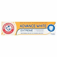 6 tubex 75mL Baking Soda Toothpaste Arm & Hammer Advance White Extreme Whitening