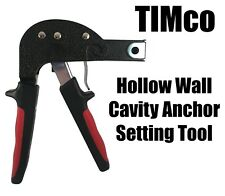 TIMco Hollow Wall Cavity Anchor Setting Tool for Plasterboard Fixing Brolly Plug