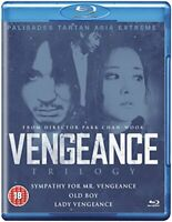 Vengeance Trilogy Boxset [Blu-ray] [DVD][Region 2]