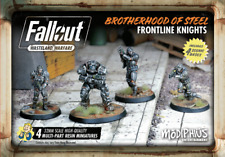 Fallout Wasteland Warfare Brotherhood of Steel Frontline Knights Miniatures
