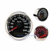 85mm Waterproof Digital GPS Speedometer Car Truck Motorcycle Odometer 200Km/H
