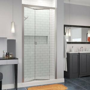 "BOSCO 60"" Infinity Semi-Frameless 1/4-inch Glass Bi-fold Shower Door"
