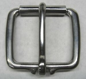 """1-3/4"""" Stainless Steel Plain Belt Buckle Heavy Duty Quality Premium Replacement"""