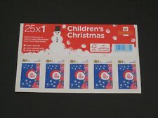 More details for 2013 booklet of 25 first class children's christmas stamps