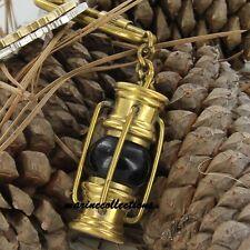 Brass lantern Key Chain- collectible Marine Nautical Key Ring game of thrones