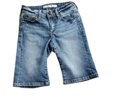 Joes Jeans Girls Bermuda Walking Shorts Blue Stretch Pockets Dark Wash 12