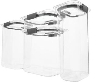 Rubbermaid Brilliance Pantry Airtight Food Storage Container, Set