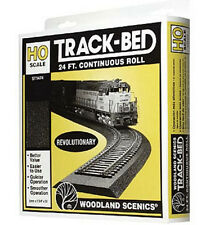 Woodland Scenics ST1474 -00 Gauge Track-Bed  24'(7.31m) Seamless Pack - T48 Post