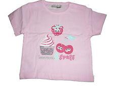 NEU Ergee niedliches T-Shirt Gr. 62 rosa mit Himbeere, Kirsche + Cupcake !!