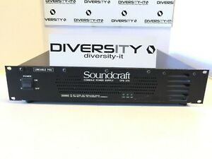 Soundcraft CPS 275 Console Power Supply