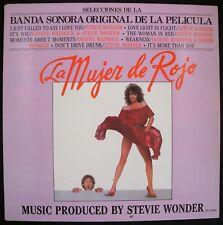 Banda sonora original LA MUJER DE ROJO vinyl LP 33rpm  Motown  SPL1-60I56  1.984