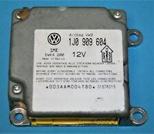 1J0 909 604 VW PASSAT MK5 AIRBAG ECU CONTROL MODULE SENSOR UNIT 1J0909604