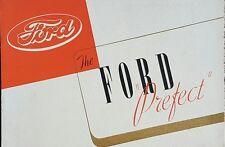 Ford Prefect Sales Brochure - September 1938