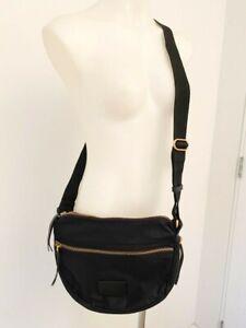 MARC JACOBS black zippered cross-body bag - $599 NEW!