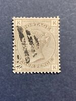 1880 Great Britain SC# 84, 4p Used