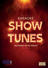 SHOW TUNES HITS - SBI KARAOKE DVD - 160 HIT SONGS