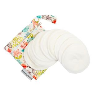 Kindred Bravely Washable Organic Nursing Pads (8 Pack)   Contoured Reusable
