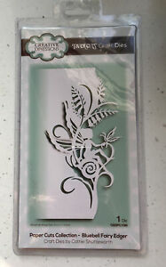 CREATIVE EXPRESSIONS PAPERCUTS BLUEBELL FAIRY EDGER CUTTING & EMBOSS DIE New