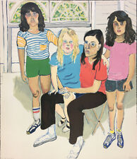 Alice Neel THE FAMILY 1982 Pencil Signed Limited Edition Lithograph