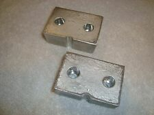 Lgb 20620 Series Diesel Switcher Loco Weight Parts Set Of 2 Pieces Brand New!