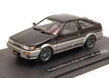 Toyota corolla levin 1600 gtv 1983 black 1:43 auto stradali scala ebbro