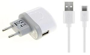 Lade Gerät Adapter Stecker +USB-C Handy Ladekabel für Huawei P20 P30 Lite Pro