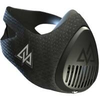 Elevation Training Mask 3.0 All Black / Blackout - Medium + FREE SPRAY CLEAN!