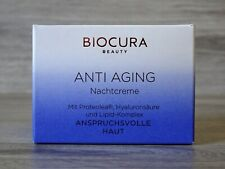 Biocura Anti Aging Nachtcreme 50ml