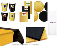 Coco&Bo Hogwarts Houses Standard Tableware Party Pack for 8 Harry Potter School
