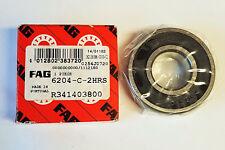 1 Stk FAG 6204 -C - 2HRS 2RSH Rillenkugellager Kugellager 20x47x14 Neu Bearing