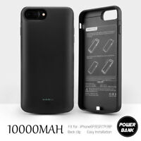 New External Power Pack Battery Case Charger Cover For iPhone 6 6S 7 8 Plus