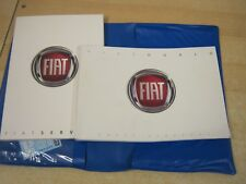 FIAT DOBLO OWNERS MANUAL - OWNERS GUIDE - HANDBOOK. 2012-2016