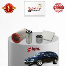KIT TAGLIANDO FILTRI ALFA ROMEO CROSSWAGON Q4 1.9 JTD 110KW 150CV DAL 2004 ->