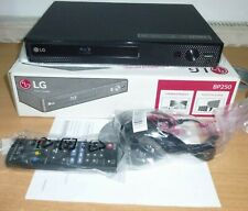 LG BP250 Blu-Ray And DVD Disc Player With Full HD Up-scaling HDMI USB Playback
