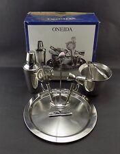New listing Unused In Box Onieda 9 Piece Bar Set