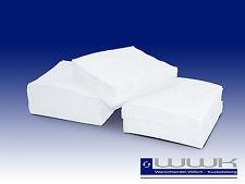 10000 Prägeservietten 1 lagig 1/4 Falz weiß 33 x 33 cm Papierservietten