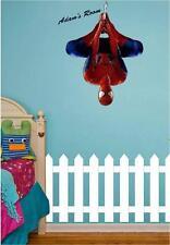 Spider-Man Pared Arte Pegatina Personalizado Nombre Niños Chicos Dormitorio