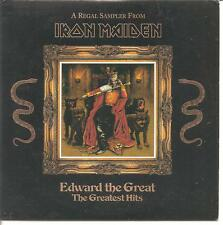"Iron Maiden ""Edward the Great-the greatest hits"" 5 track sampler promo cd rare"