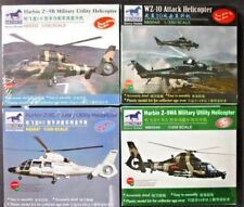 Bronco 1/350th Scale Helicopter 4 Kit Collection