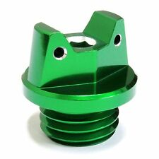 MotoSculpt Oil Fill Cap Plug for Kawasaki KX125 KX250 KX500 - GREEN