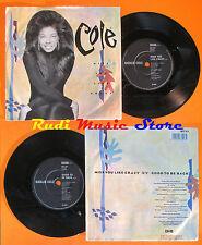 LP 45 7'' NATALIE COLE Miss you like crazy Good to be back 1989 uk EMI *mc dvd