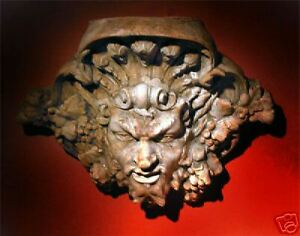 Dionysus Dionysos Bacchus Roman&Greek Goddess wall stone bracket sconces art