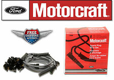 Genuine Motorcraft Spark Plug Wire Set WR6096 for V6 Ford Explorer & Mountaineer